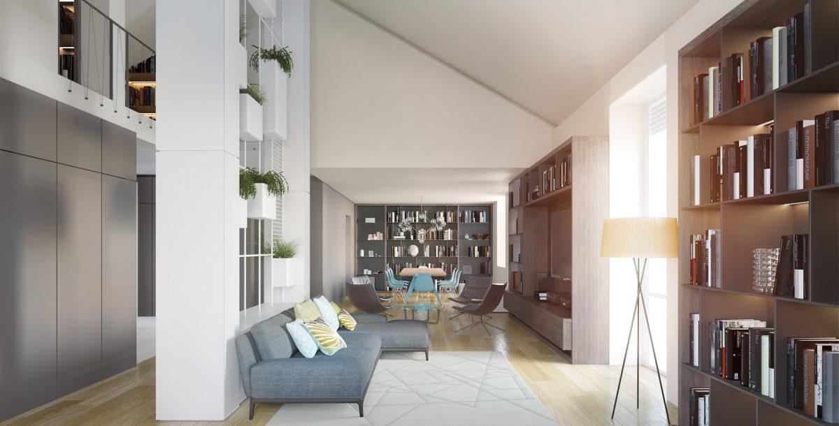 Lussuosi appartamenti in via Lagrange